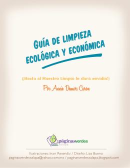 Guía de limpieza ecológica y económica