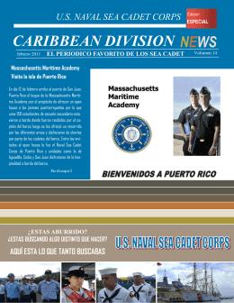 news caribbean division el periodico favorito de los sea cadet