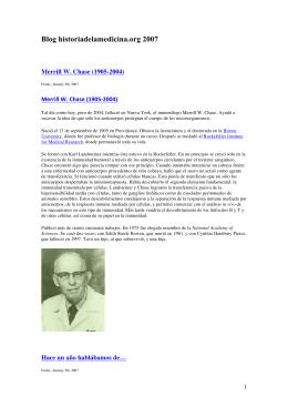 Blog historiadelamedicina_2007