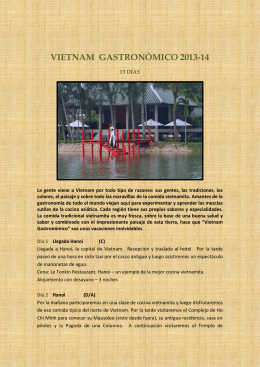 VIETNAM COMPLETO - Viajar a la Carta