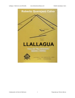 Llallagua: Historia de una Montaña www.librosmaravillosos.com