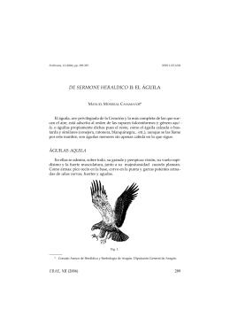 el águila, por Manuel Monreal Casamayor