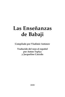 Las Enseñanzas de Babaji