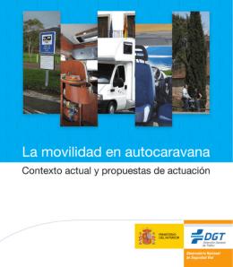 La movilidad en autocaravana - Dirección General de Tráfico