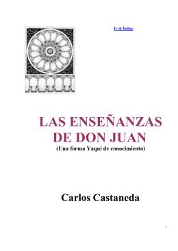 Carlos Castaneda - Las Enseñanzas de don Juan