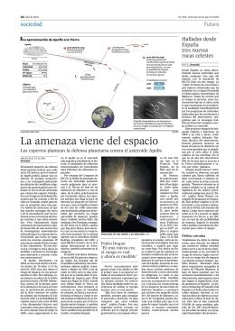 ASTRONOMIA APOFIS colision Tierra abr 09