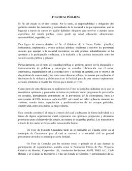 Políticas Públicas - Transparencia Morelos