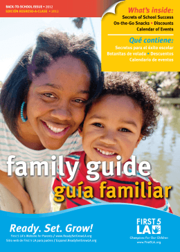 family guide guía familiar
