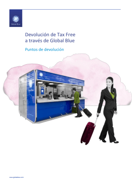 Manual Tax Free El Corte Inglés - Local Services