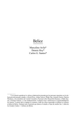 Belice - Comisión Económica para América Latina y el Caribe