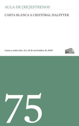 Programas - Fundación Juan March