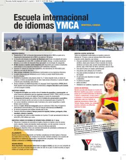 Escuela internacional de idiomas YMCA