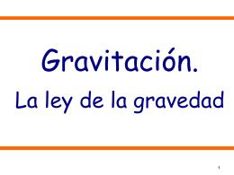 Gravitacion
