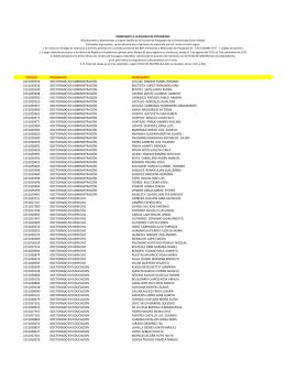 código programa ingresante 2151029334 doctorado en