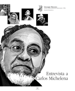 Entrevista a Carlos Michelena