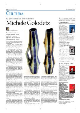 Michele Golodetz - La Palabra Israelita
