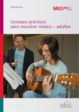 Consejos prácticos para escuchar música – adultos
