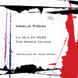 Virgilio Piñera La isla en peso The Whole Island