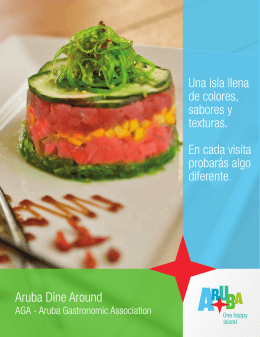 ARUBA GASTRONOMIC ASSOCIATION DINE AROUND PROGRAM