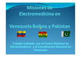 Trabajo realizado por el Centro Nacional de Electromedicina y la