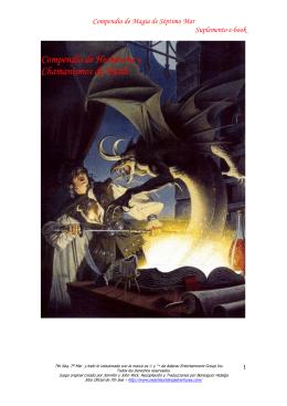 Compendio de Magia de Séptimo Mar Suplemento e-book