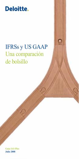 IFRSs y US GAAP Una comparación de bolsillo