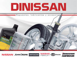 portafolio - Distribuidora Nissan SA