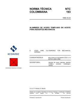 NTC 193 - ICONTEC Internacional