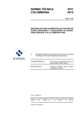 NTC 4514 - ICONTEC Internacional