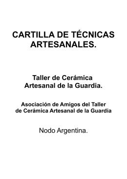 Procesos Artesanales Taller de Cerámica Artesanal de la