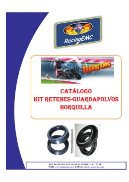 CATÁLOGO KIT RETENES-GUARDAPOLVOS HORQUILLA