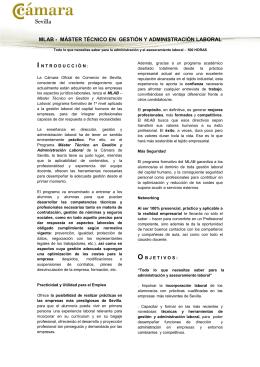 mlab - máster técnico en gestión y administración laboral