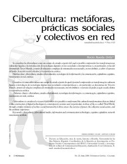 Cibercultura: metáforas, prácticas sociales y colectivos en red