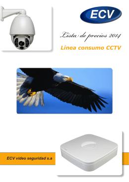 Lista de precios 2014 - ECV Vídeo Seguridad SA