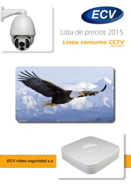 Lista de precios 2015 - ECV Vídeo Seguridad SA