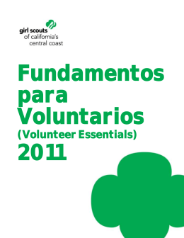 Spanish Volunteer Essentials - Girl Scouts of California`s Central