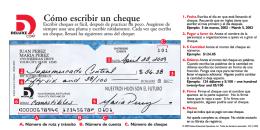 Cómo escribir un cheque