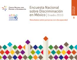 Encuesta Nacional sobre Discriminación en México