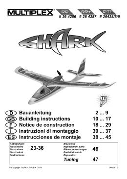 SHARK manual final