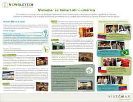 Vistamar se toma Latinoamérica