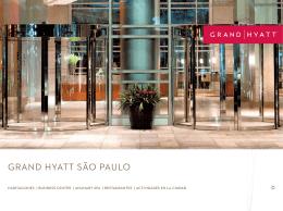 GRAND HYATT SÃO PAULO