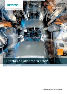 Catálogo Ofertas de Automatización
