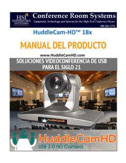 HuddleCamHD_18x_User_Manual (Espanol)