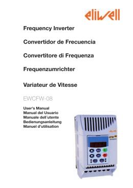 Frequency Inverter Convertidor de Frecuencia Convertitore di