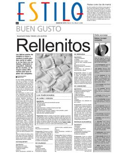 BUEN GUSTO - Diario de Cuyo