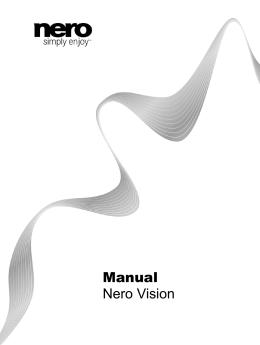Manual Nero Vision