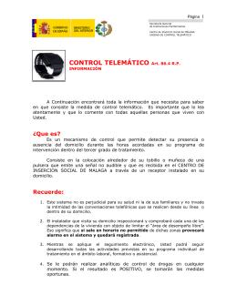 CONTROL TELEMÁTICO Art. 86.4 RP