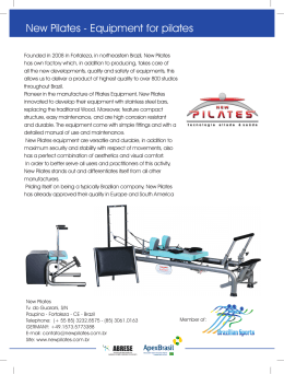 New Pilates - Equipment for pilates