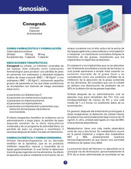 Conagrad® - Senosiain Laboratorios