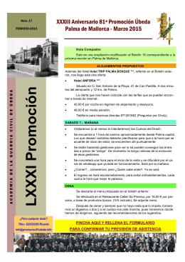 LXXXI Pro moción